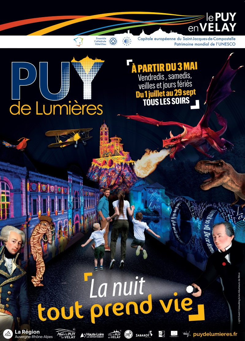 Puy lumieres 2019